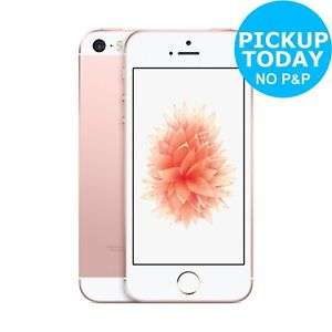 Apple iPhone SE (Sim Free/Unlocked) 32GB 12MP Mobile Smart Phone - Rose Gold/Space Grey/Gold/Silver £239.20 @ Argos On eBay Using 20% Off Code (FREE Click & Collect from your local Argos) £103.99