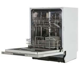 Bush DWINT125SS Full Size Integrated 60cm Dishwasher - Silver. A++ at Argos Ebay for £151.99
