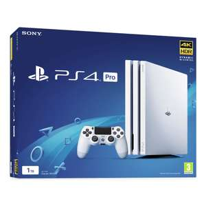 Sony PS4 Pro 1TB Console - White + Free Controller and Free Game from a selection £239.99 @ Argos ebay
