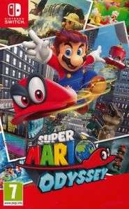 Mario Odyssey Nintendo Switch after ebay 20% discount for £31.96 at Mariio128