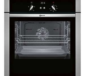 NEFF B44S32N5GB Slide & Hide Electric Fan Oven Stainless Steel at Ebay Currys for £403