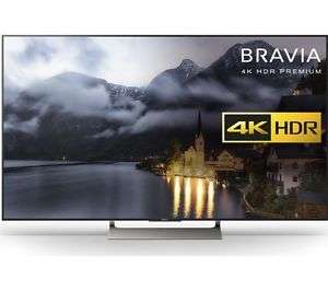 SONY BRAVIA KD49XE9005 £874 with voucher at Currys/PC World