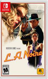 LA Noire for Nintendo Switch from ShopTo on Ebay (use code PNY2018) for £21.48