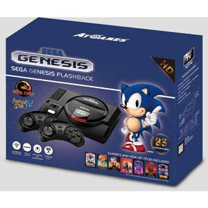 Sega Mega Drive Flashback £63.99 @ Argos On eBay Using 20% Off Code (FREE Click & Collect from your local Argos)