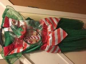 Children's elf costume down to £3 tesco in store
