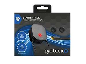 Gioteck PS4 multi wall socket charger starter pack £4.99 Prime  £6.98 delivered Sold by The_Accessory_Outlet and Fulfilled by Amazon also Xbone £3 @ Game