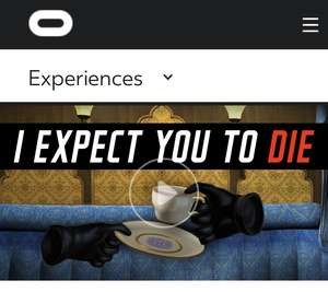 I Expect You To Die @ Oculus Store - £3.99