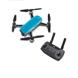 Back DJI SPARK Fly More Combo Drone in Sky Blue