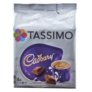 TASSIMO Cadbury Hot Chocolate, Pack of 8 x 5 (40 servings) £8.70 @ 2014buyitfromme2014 ebay
