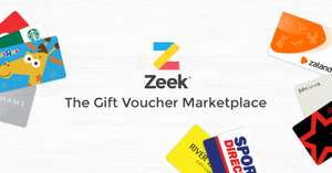 £5 for every £50 you spend at Zeek (until 2 January)