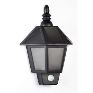 Solar Super Bright PIR Wall Light £3.50 @ Homebase Then Take Off The 15% Voucher (Maybe!).