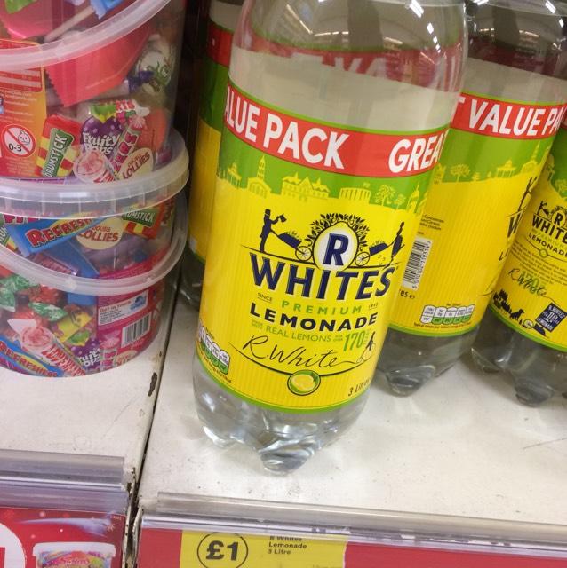 3 litre R Whites Lemonade £1 @ Iceland