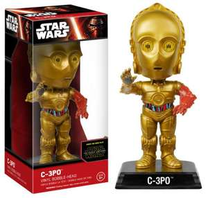 Home bargains, C-3PO vinyle Bobble-Head whacky wobbler by funko £2.99