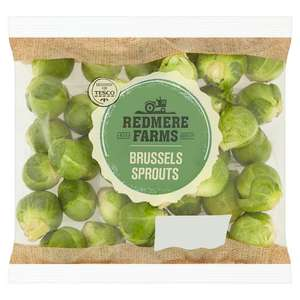 Indate Redmere Farms-unpeeled-sprouts-500g in-store 10p at Tesco Widnes