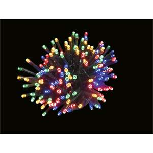 100 (indoor or outdoor)Multi Colour String LED Christmas Lights £1 @homebase