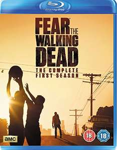 Fear the walking dead season 1 blu ray(2disc) £3.67 Prime @ Amazon