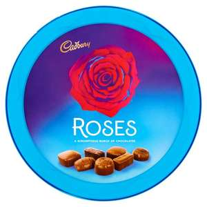 Cadbury Roses 660g tin Now £3 at Morrison's