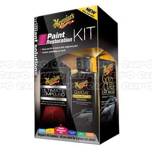 Meguiars Paint Restoration Kit £35 Use code box90 for eurocarparts