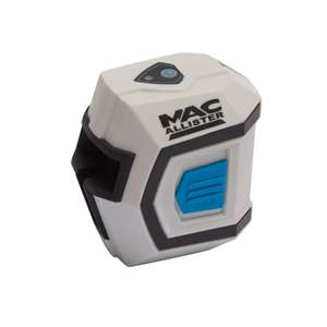 £8 @B+Q Macalister 10mm cross line laser down from £30.40