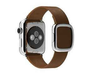 Apple Modern Buckle Strap Large (Brown) for 38mm Watch £49.99 Sold by Electroport and Fulfilled by Amazon.