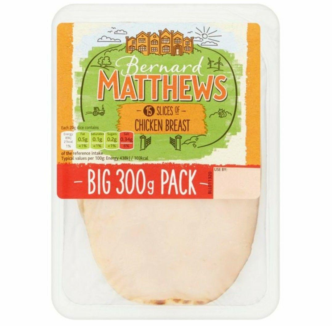 2 X 15 slices Bernard matters chicken slices @ farmfoods