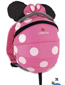 Little Life Minnie Mouse Toddler Backpack- £9 @ Mothercare
