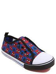 Marvel Spider-Man Lace Free Canvas Trainers  £2 george free c&c