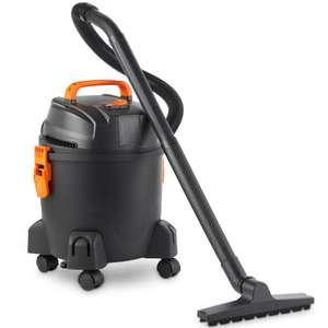 VonHaus 15L Wet & Dry Vacuum With Blowing Function + 2 Year Warranty (rrp £69.99) now £39.99 Del @ Domu