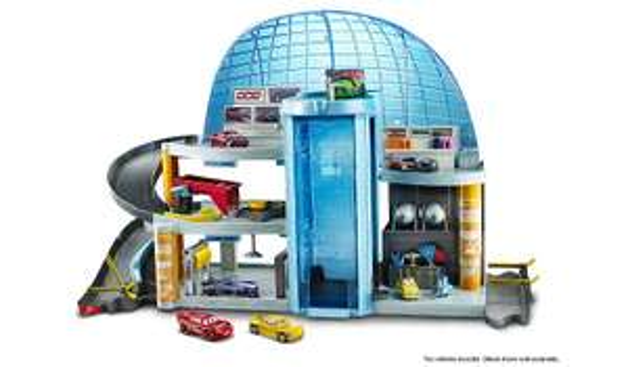 Disney cars 3 Florida speedway mega garage instore at Asda for £15 (found Bristol)