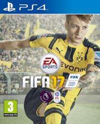 Fifa 17 PS4 £3.99 free delivery/store collection @ Grainger Games preowned