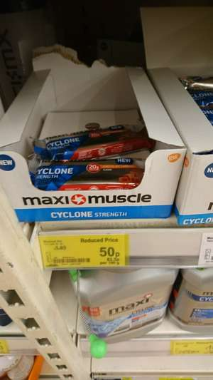 Maxi muscle 20g protein - 50p instore @ asda