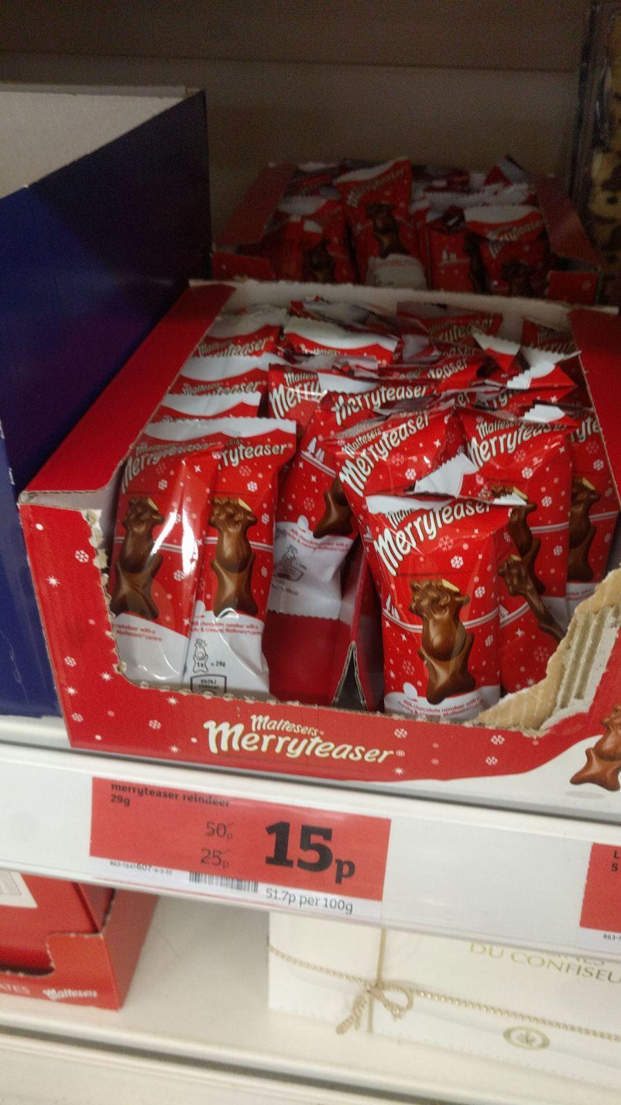 Malteser Chocolate Reindeer 15p @ Sainsbury's