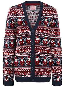Bell Embellished Christmas Cardigan   size L  & XL  Left - £4