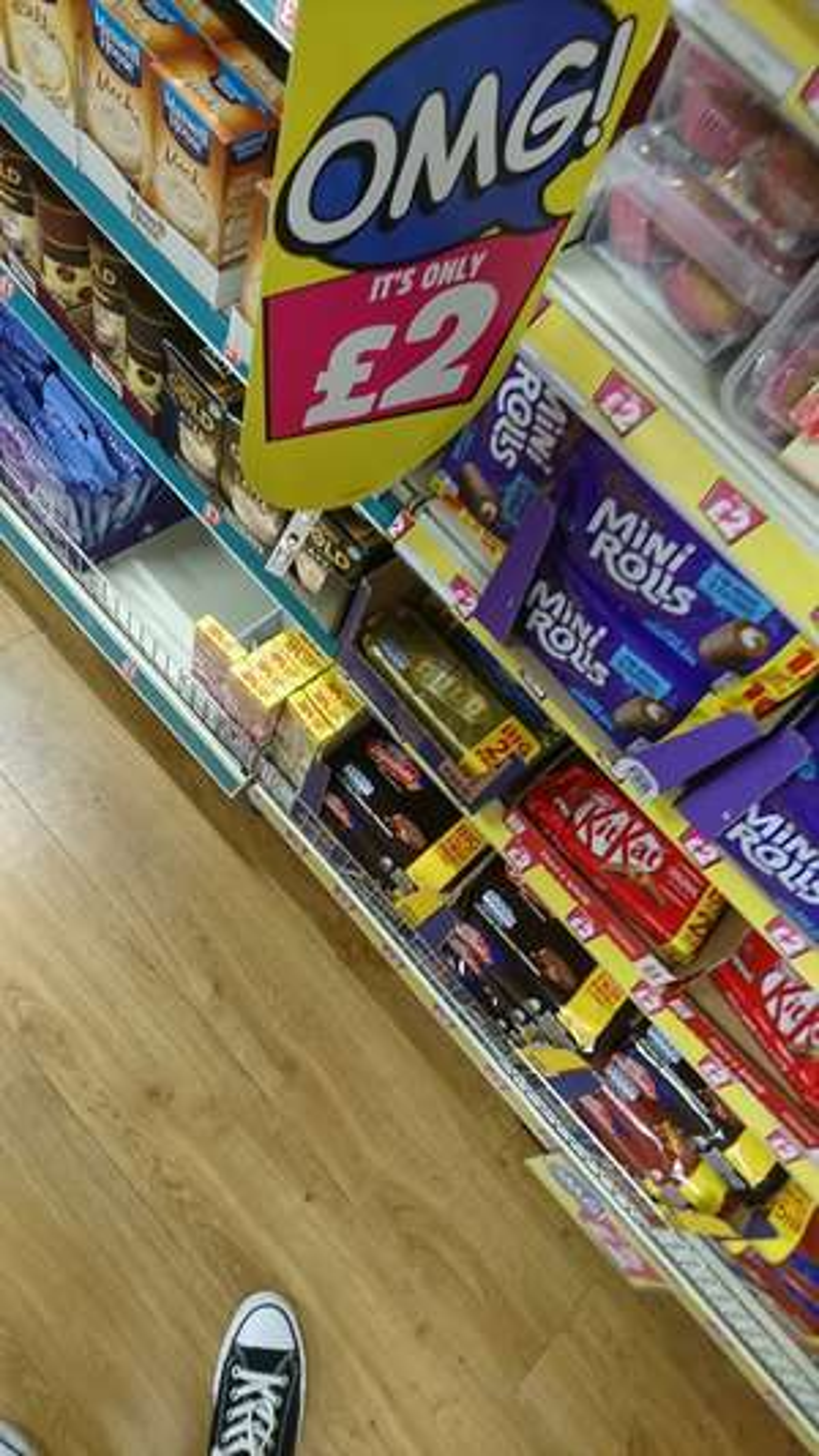21 gold bars for £2 at Poundland and Asda.. And Home bargains and B&M