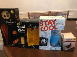 Alcoholic gift sets 75% off Tesco instore