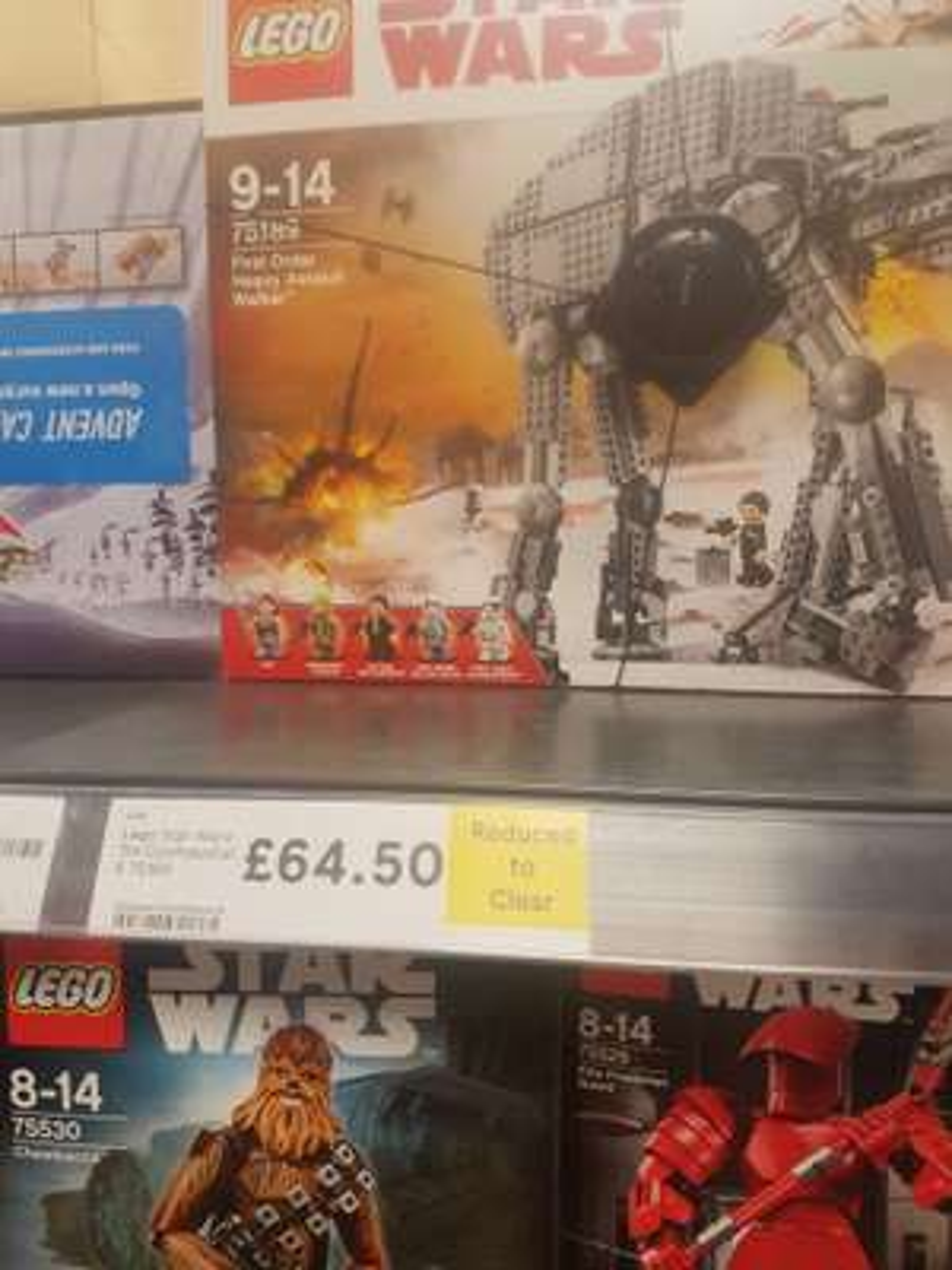 LEGO 75189 First Order Heavy Assault Walker £64.50 in Tesco (Gloucester)
