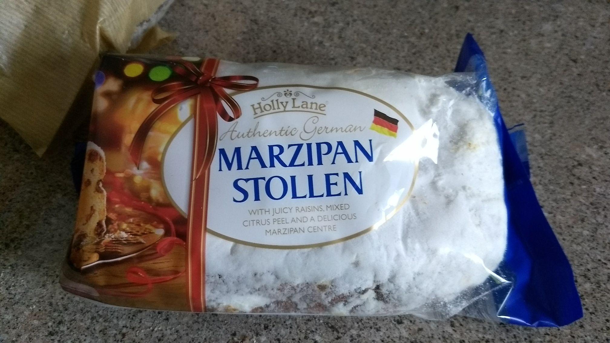 Aldi Marzipan Stollen 99p