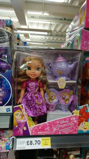 Disney Princess repunzle & tea set @ tesco instore - £8.70