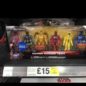 Power Ranger 6 Figure Pack - £15 instore @ Tesco