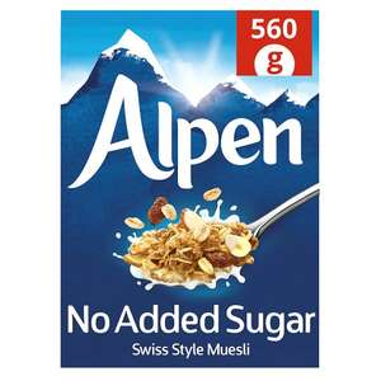 Alpen No Added Sugar Muesli 560G - £1.49 @ Tesco
