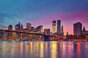 Return Flights Edinburgh to New York £195.40 - Return Flights London Gatwick to New York £239.80 @ Norwegian