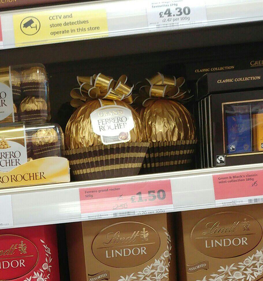 Ferrero Grand Rocher - £1.50 in store at Sainsbury's