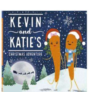 Kevin & Katie's Christmas Adventure book in Aldi 29p