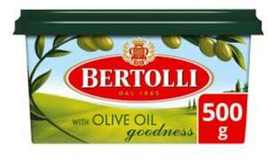Bertolli original / light 500g half price 95p in Waitrose
