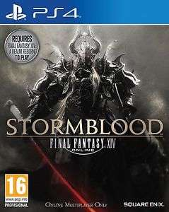 Final Fantasy XIV: Stormblood (PS4) £17.85 (PC) £13.85 Delivered @ Shopto via eBay