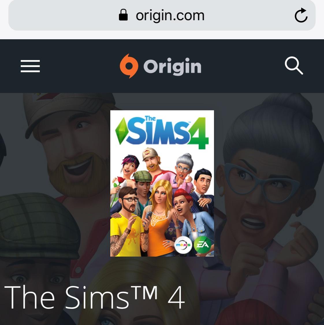 The sims 4 PC - £17.49 @ Origin