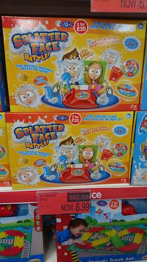Splatter face battle reduced @ b&m Bromborough ( maybe nationwide)