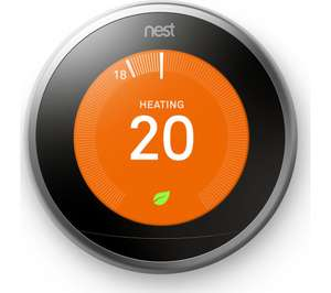 Nest 3ed Gen with free goggle or (Google lol) mini at Currys for £189