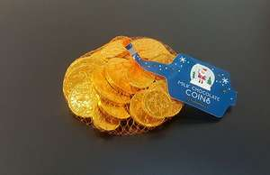 Milk Chocolate Coins Reduced to £0.24 @ Sainsbury's instore