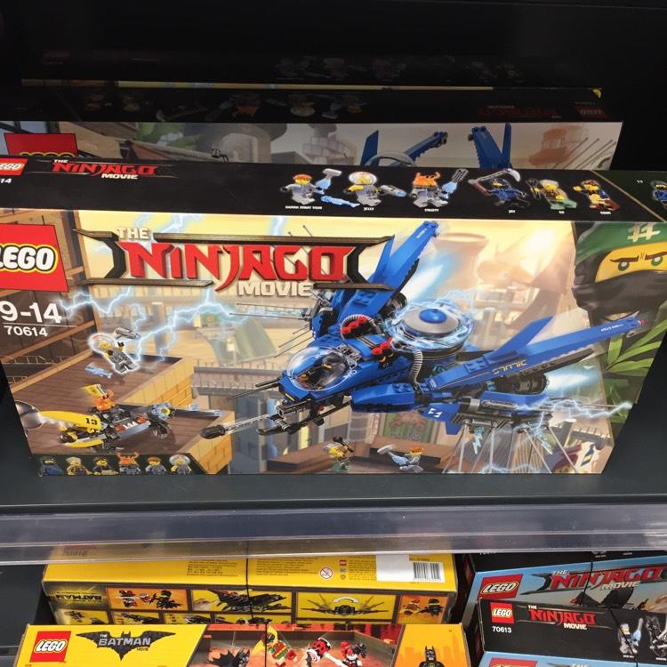 Lego ninjago jet 70614 Tesco instore